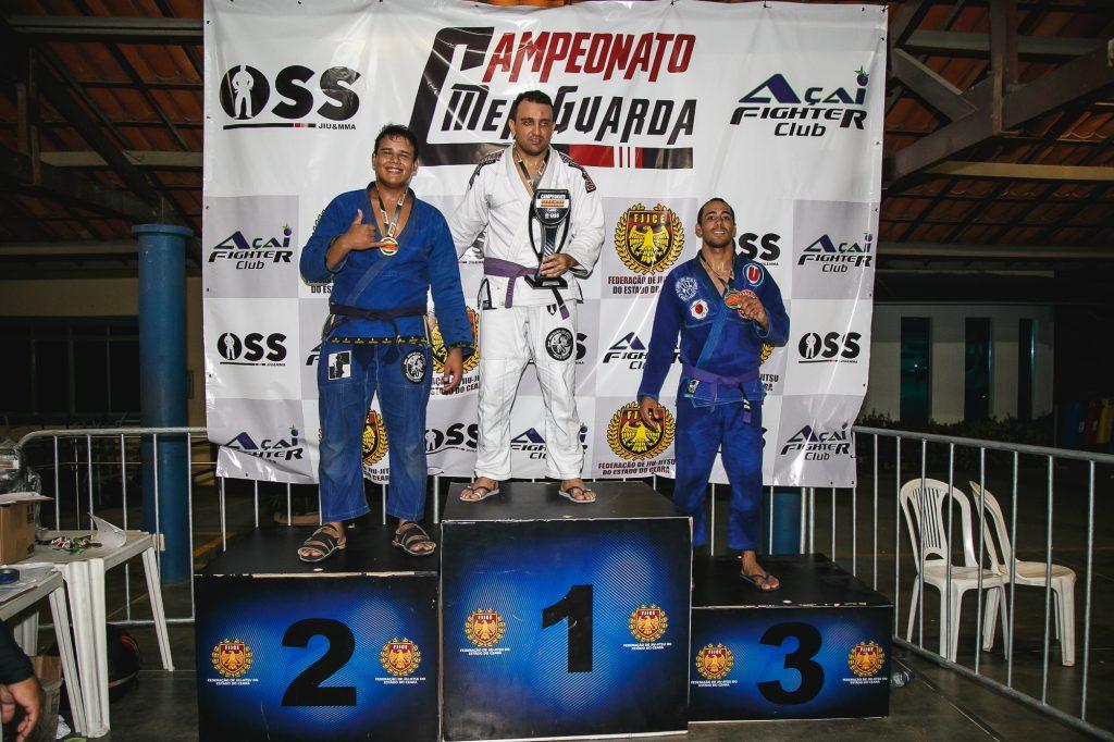 O Campeonato Meiguarda de Jiu-Jitsu ferveu Fortaleza no último final de semana. Foto: Divulgação