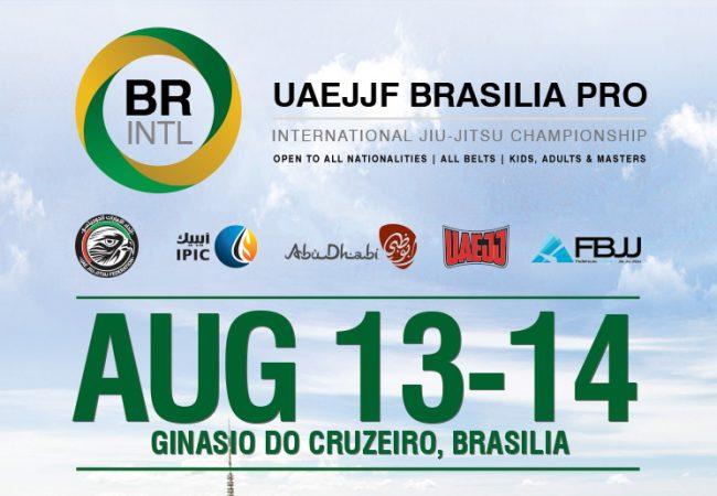 UAEJJF Brasília Pro chega ao Distrito Federal com quase mil inscritos