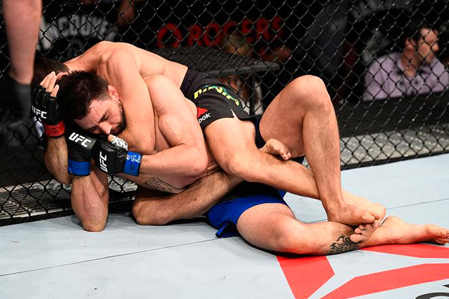 Demian Maia and the RNC that caught Carlos Condit at the UFC