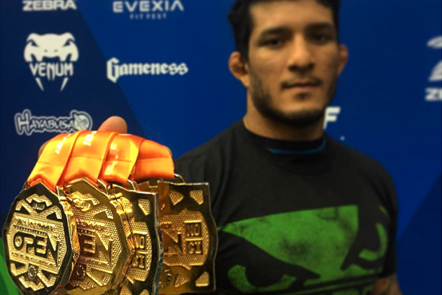 "Lucas ""Hulk"" Barbosa gets four medals and is the big winner of the IBJJF Chicago Summer Open"