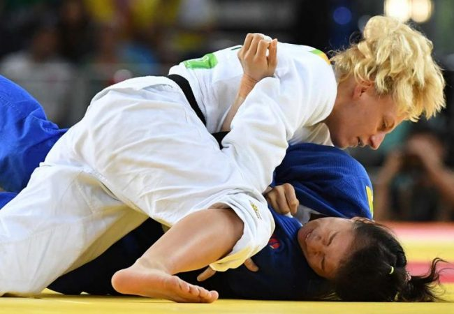 Judo: Kayla Harrison takes gold at the 2016 Rio Olympic Games