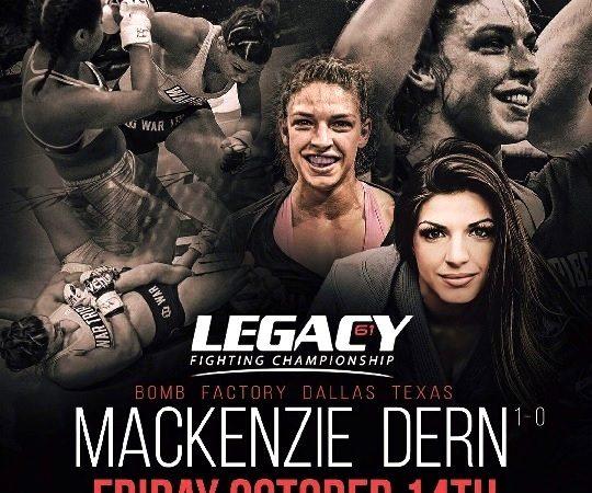 Campeã de Jiu-Jitsu, Mackenzie Dern volta a atuar no MMA em outubro