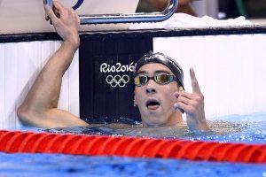 Rei nas piscinas, Michael Phelps marcou presença na Rio-2016, e acumulou mais medalhas. Foto: AFP