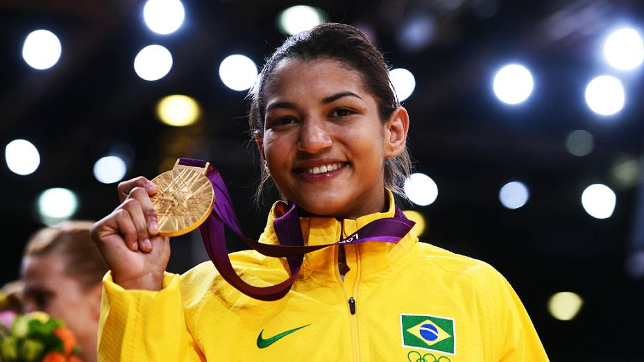 Sarah Menezes lida bem com o fato de ser a atual campeã. Foto: Divulgção