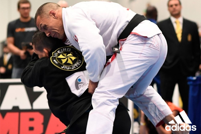 Watch the takedown that gave Saulo Ribeiro his fifth BJJ World Master title