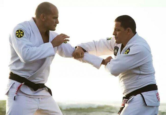 Xande afia o corpo e o espírito com o irmão e mentor Saulo Ribeiro. Foto: arquivo GRACIEMAG