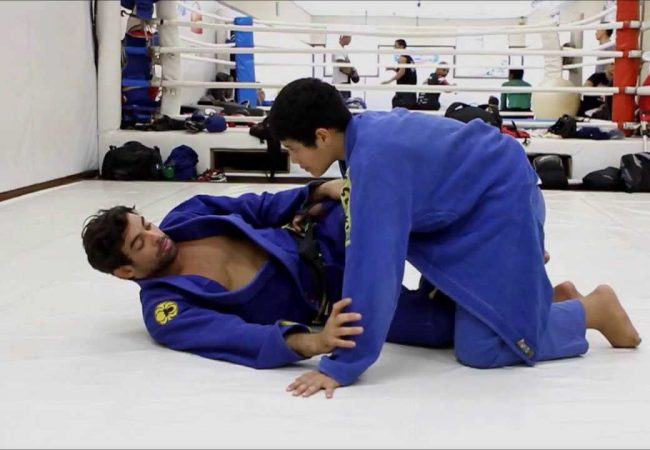 Take the back from half guard with Yan Cabral