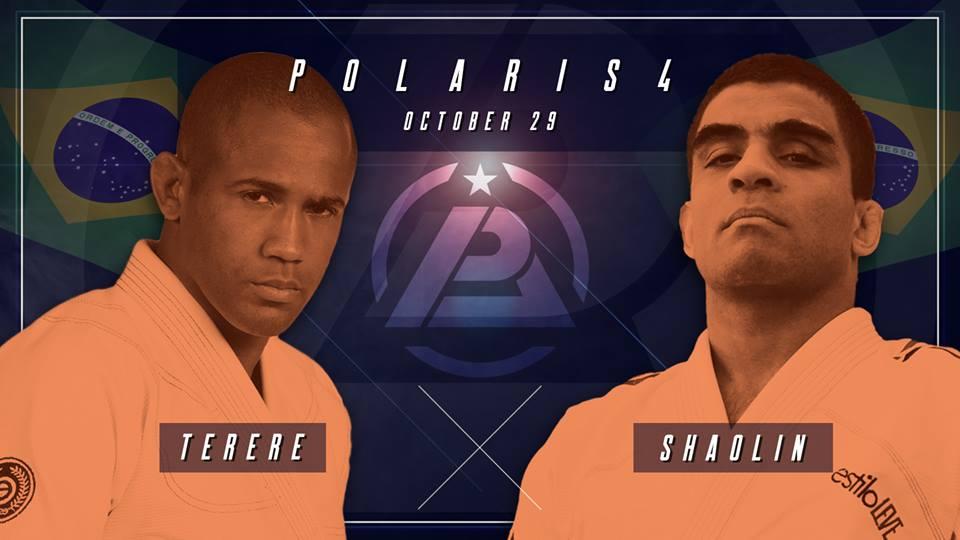 Rivais de outrora, Tererê e Shaolin voltam a dividir um tatame no Polaris. Foto: Reprodução/Facebook
