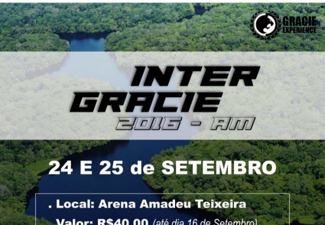 Manaus recebe Inter Gracie de Jiu-Jitsu com mestre Robson, Renzo e Ralph Gracie