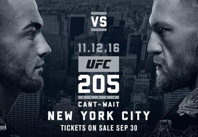 Conor McGregor encara Eddie Alvarez pelo cinturão peso leve no UFC 205, em NYC
