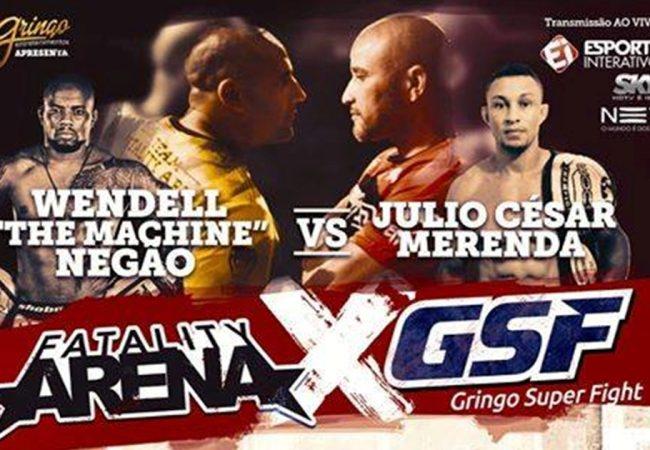 Ex-UFC Wendell Negão encara Júlio Merenda em duelo de organizações de MMA