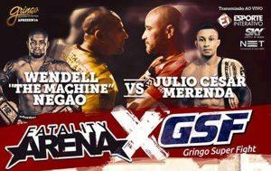 Banner do evento anuncia o duelo de organizações. Foto: Divulgação