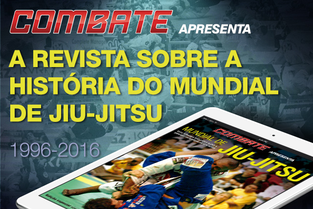 A história do Mundial de Jiu-Jitsu em formato digital