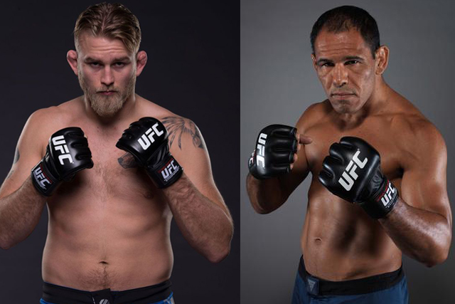 Rogerio Minotouro to fight Alexander Gustafsson at UFC Sao Paulo Nov. 19