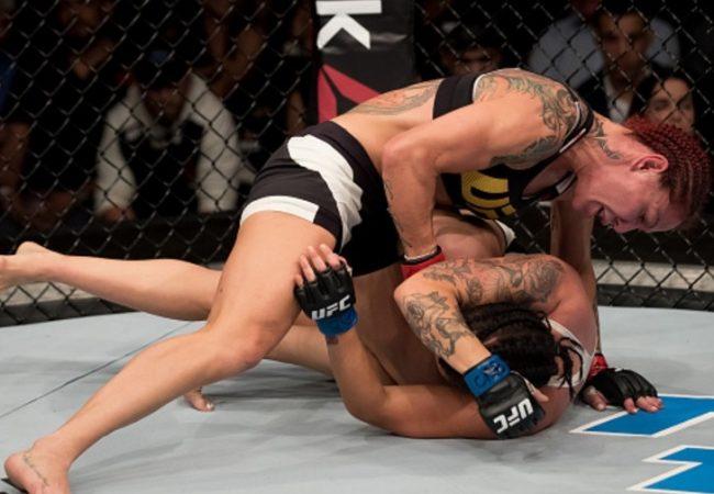 Vídeo: Os melhores lances de Cris Cyborg x Lina Lansberg no UFC Brasília