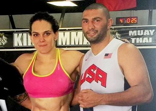 MMA: Treinador de Gabi Garcia faz luta principal de evento na Suiça