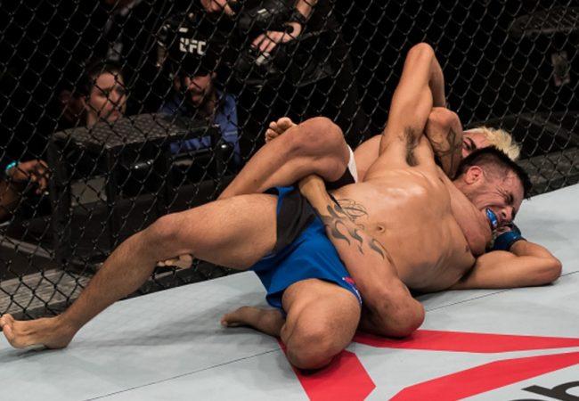 Jiu-Jitsu: O mata-leão vencedor de Godofredo Pepey no UFC Brasília