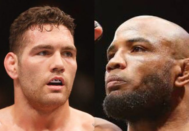 Chris Weidman and Yoel Romero to face off at UFC 205 in N.Y