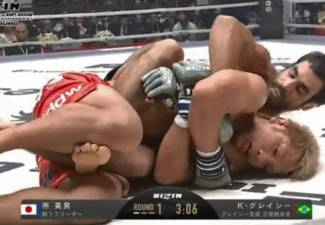 Jiu-Jitsu: Kron Gracie e seu mata-leão vitorioso na luta principal do Rizin FF