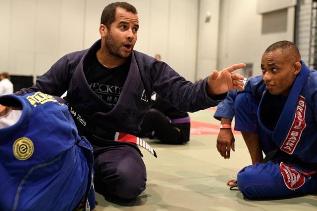 Léo Vieira seminar attracts new Brazilian Jiu-Jitsu generation