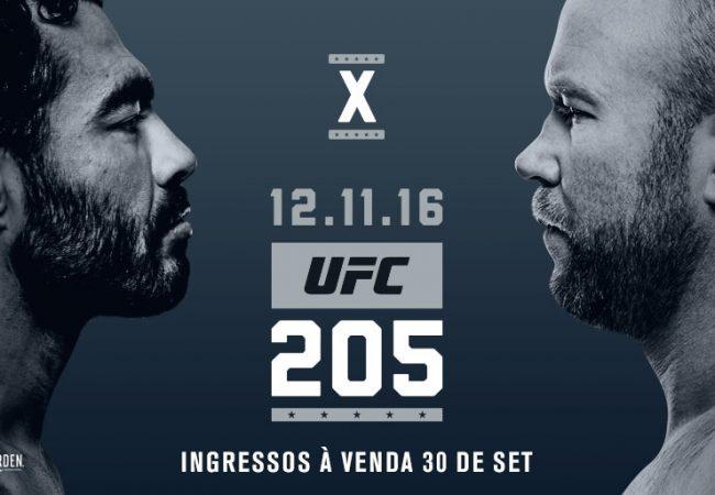 Faixa-preta Rafael Sapo encara Tim Boetsch no UFC 205, em Nova York