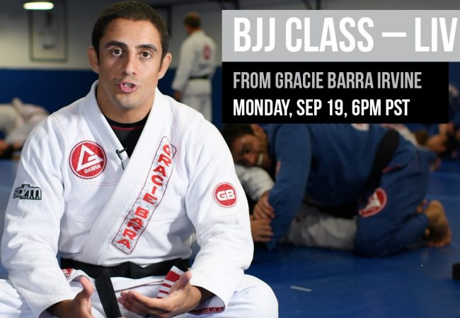 Live: Watch advanced BJJ class from Gracie Barra Headquarters