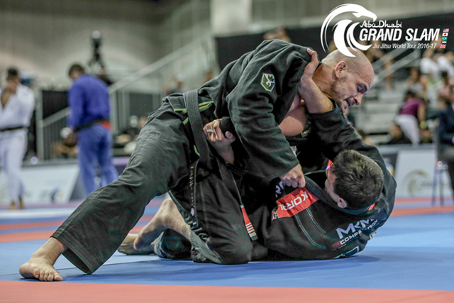 Xande Ribeiro wins gold at Abu Dhabi Grand Slam, in Los Angeles