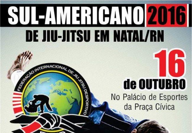 Rio Grande do Norte recebe o Sul-Americano de Jiu-Jitsu da FIJJD