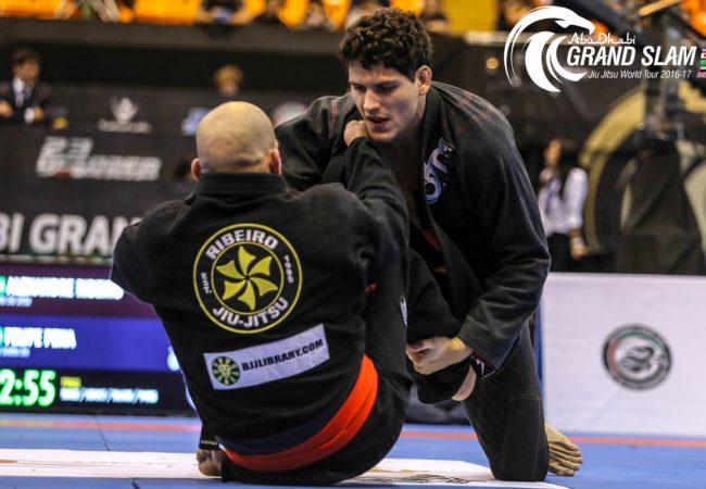 Jiu-Jitsu: O triângulo invertido de Felipe Preguiça no Abu Dhabi World Pro