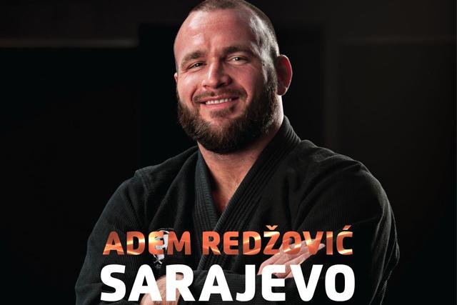 BJJ black-belt Adem Redzovic to give seminars in Bosnia