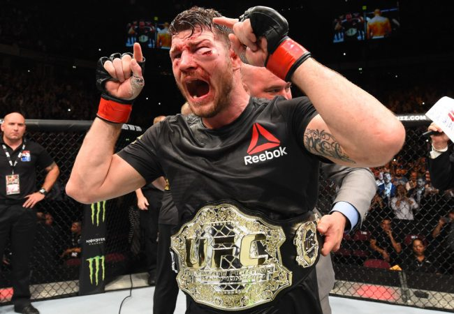 Michael Bisping retains belt; Belfort TKO'd by Mousasi at UFC 204