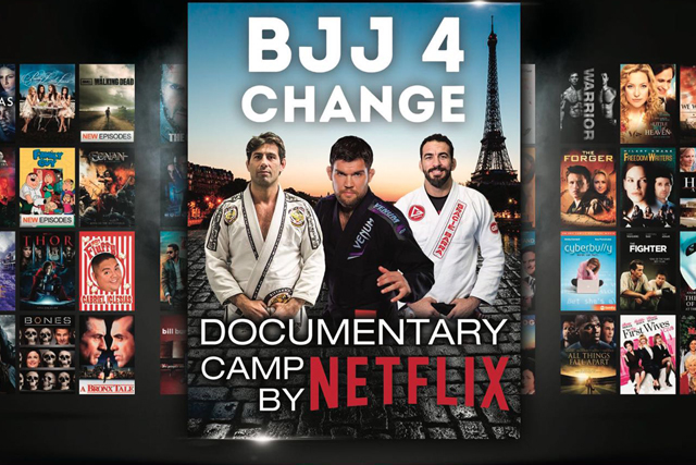 BJJ 4 Change will feature seminars, superfights at the Eiffel Tower