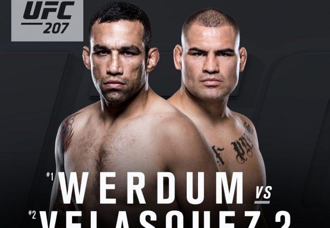 Fabrício Werdum faz revanche com Cain Velasquez no UFC 207, em dezembro
