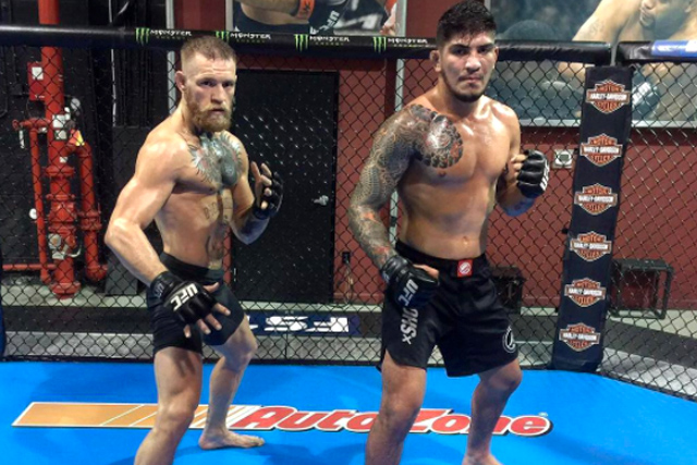 Conor McGregor and Dillon Danis. Photo: Instagram
