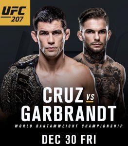 Banner oficial para o duelo entre Curz e Grabrandt. Foto: Reprodução