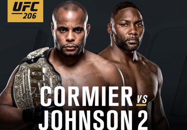Daniel Cormier e Anthony Johnson fazem revanche pelo cinturão no UFC 206