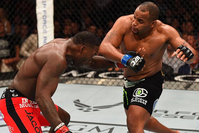 Daniel Cormier vs. Anthony Johnson. Photo: UFC