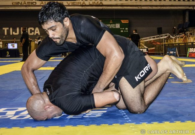 The armbar used to secure Dimitrius Souza's absolute gold at the No-Gi Brazilian Nationals