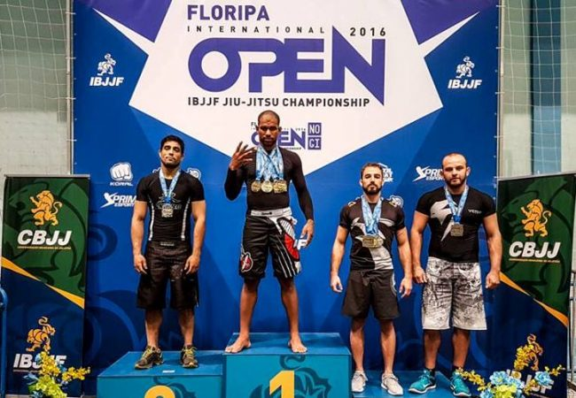 Erberth Santos wins four golds at Floripa Jiu-Jitsu Open