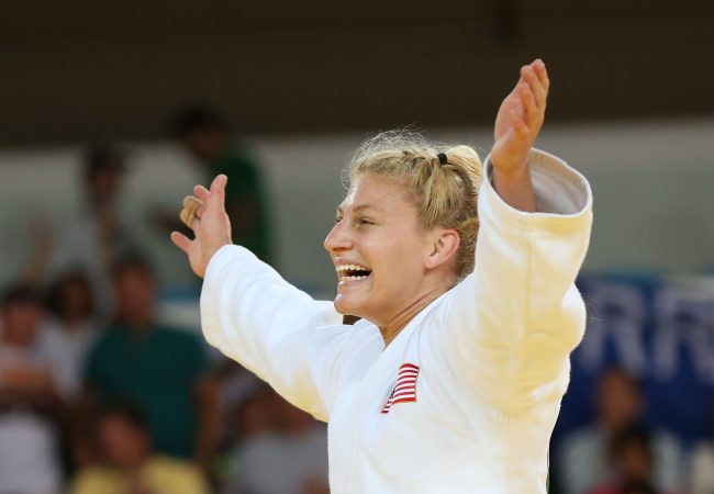 Two-time Olympic champion judoka Kayla Harrison signs with WSOF