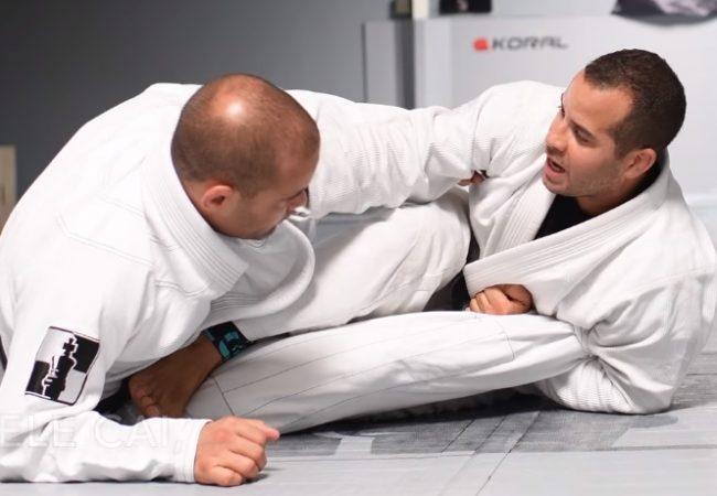 """Jiu-Jitsu: Aprenda com Léo Vieira a finalizar na """"guilhotina no pé"""""""