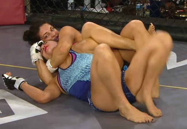 "Jiu-Jitsu: Veja Mackenzie Dern e seu ""mata-leão da omoplata"" no Legacy MMA"
