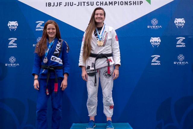 Dominyka Obelenyte wins double gold at Charlotte International Open of Jiu-Jitsu