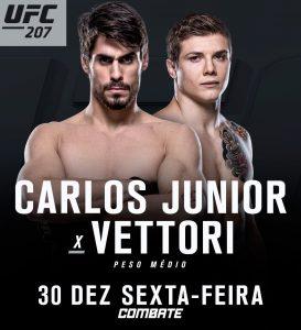 Cara de Sapato em banner do UFC que confirma seu novo combate. Foto: Reprodução