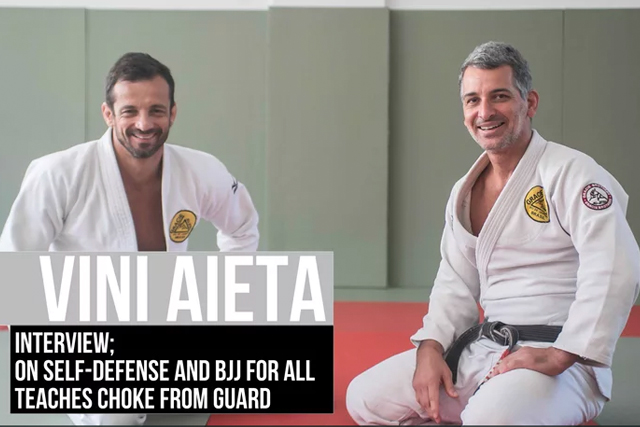 Vini Aieta on self-defense, benefits the gentle art can bring to all