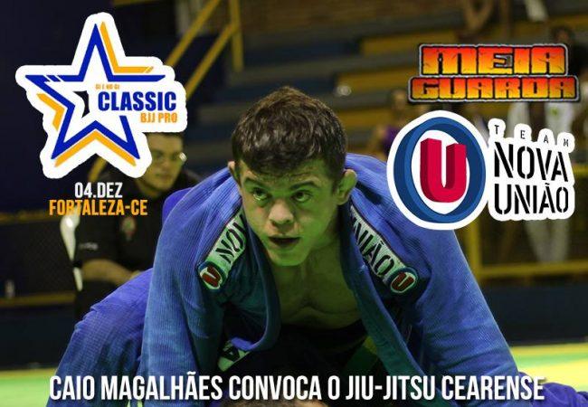 Caio Magalhães convoca para o Classic BJJ Pro; inscrições vão até quarta-feira