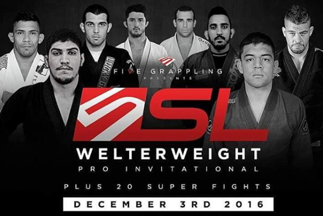 Dillon Danis, Edwin Najmi, Bill Cooper to fight at the Five Grappling Super League