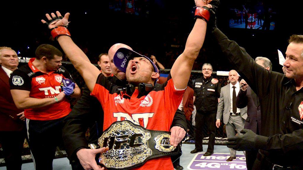 José Aldo volta a ser campeão peso-pena do UFC. Foto: Josh Hedges/Zuffa LLC via Getty Images