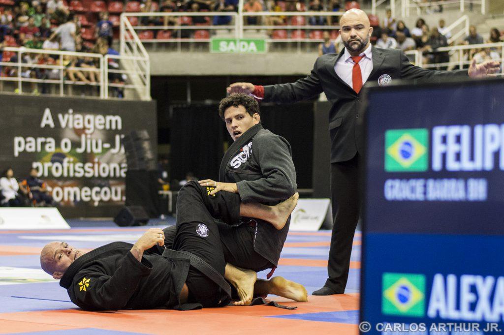 Preguiça e Xande se enfrentaram na final do Grand Slam do Rio. Foto: Carlos Arthur Jr.