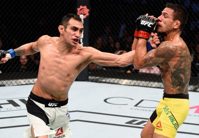 Tony Ferguson beats Rafael dos Anjos in Mexico UFC main event